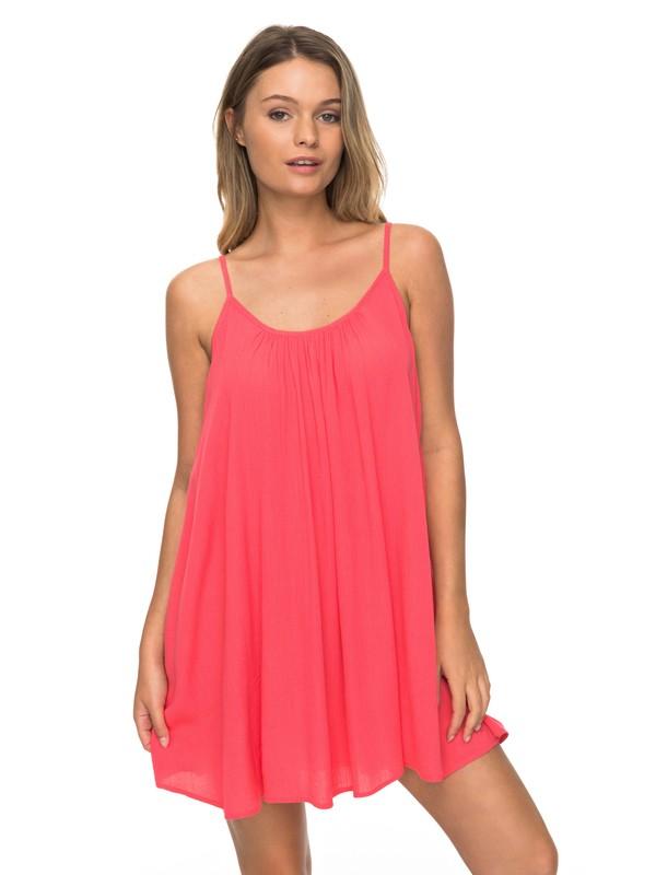 0 Windy Fly Away - Riemchenkleid für Frauen Rosa ERJX603012 Roxy