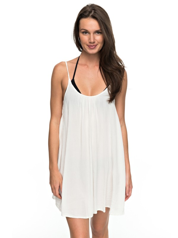 0 Windy Fly Away - Strappy Dress for Women White ERJX603012 Roxy