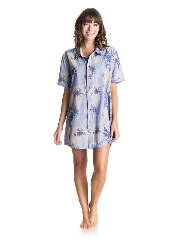 0 My Heritage Beach Shirt  ERJX603014 Roxy