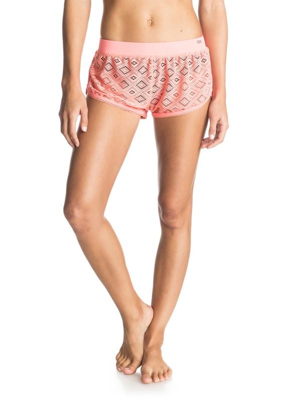 0 Crochet Fancy Cover Up Shorts  ERJX603015 Roxy