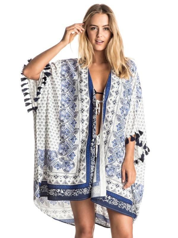 0 Souk Paisley Poncho  Kimono  ERJX603030 Roxy