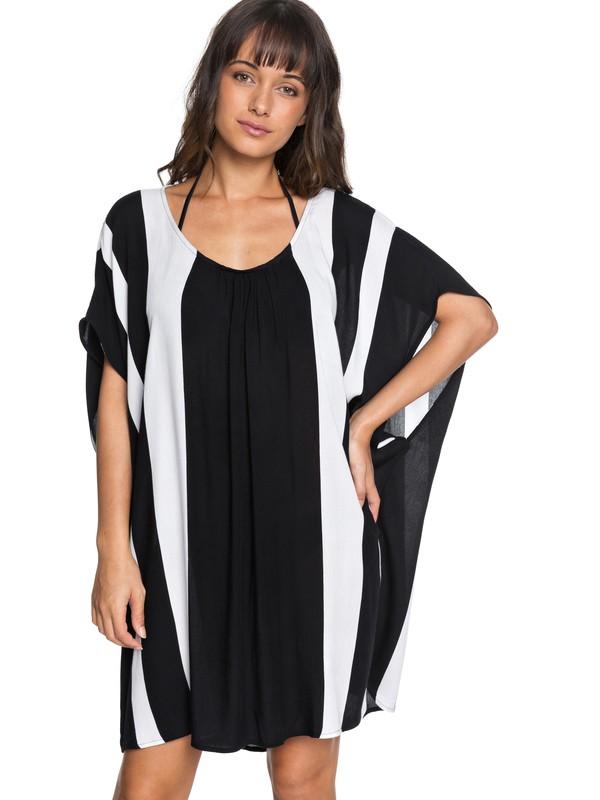 0 Vacay Feeling Sleeveless Dress Black ERJX603129 Roxy