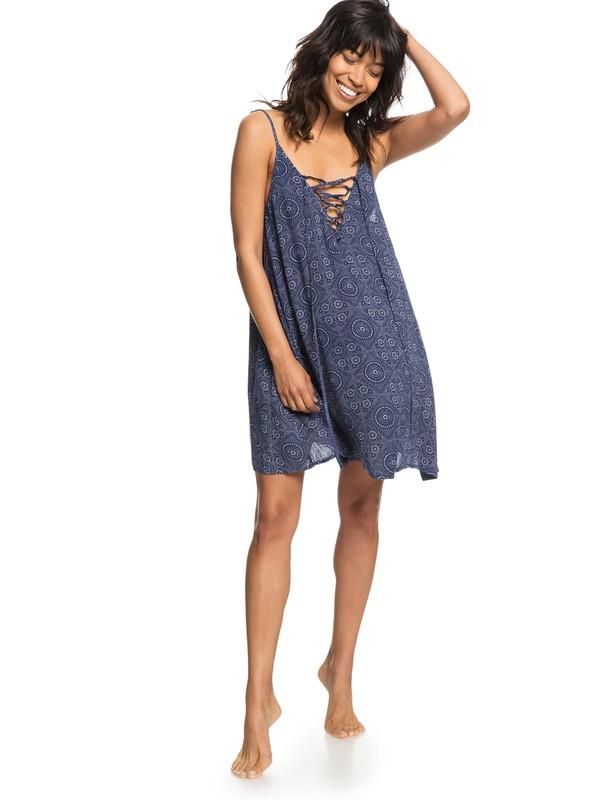 0 Softly Love - Robe de plage à bretelles pour Femme Bleu ERJX603138 Roxy