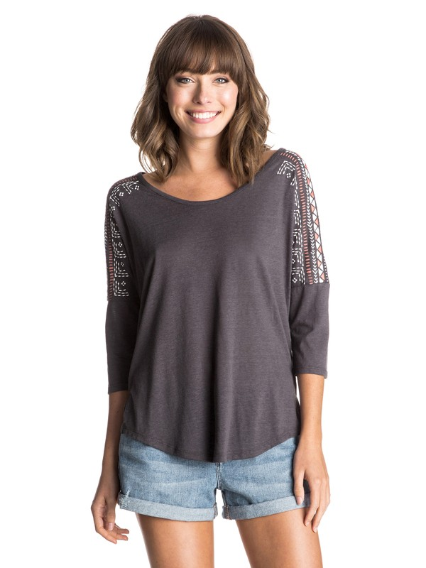 0 Essential Dolman Native Arrow Top  ERJZT03367 Roxy
