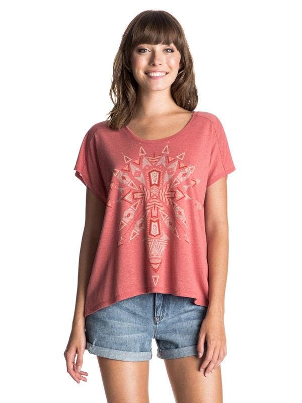 0 Fashion Dolman Beach Tribe Tee  ERJZT03405 Roxy