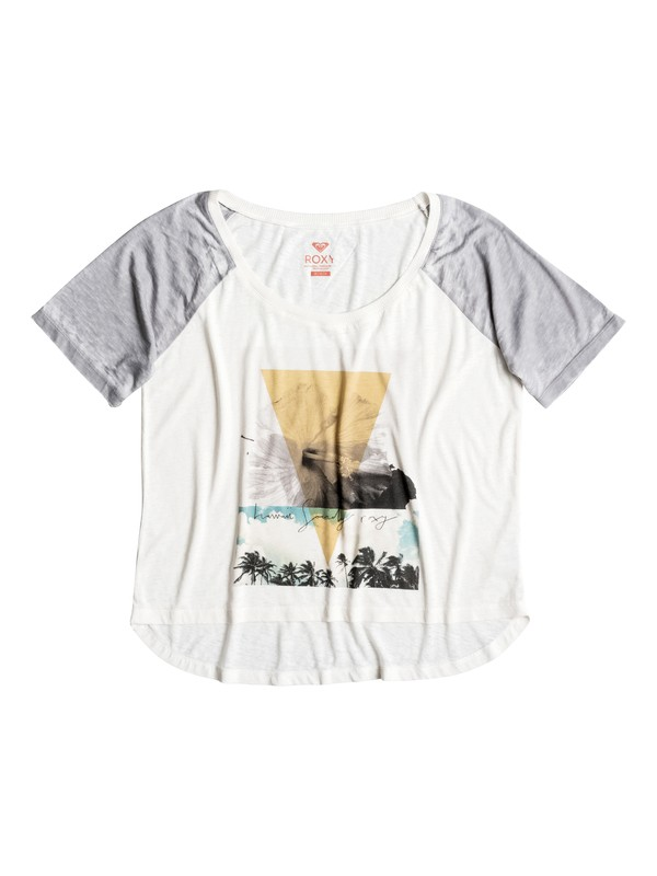 0 Sporty Baby Hawaii Society  Raglan Tee  ERJZT03448 Roxy