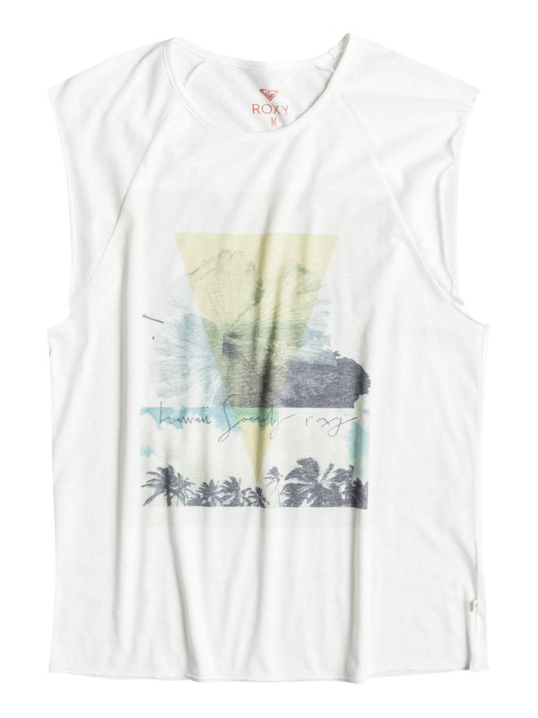 0 Hawaii Society Muscle Tank  ERJZT03497 Roxy