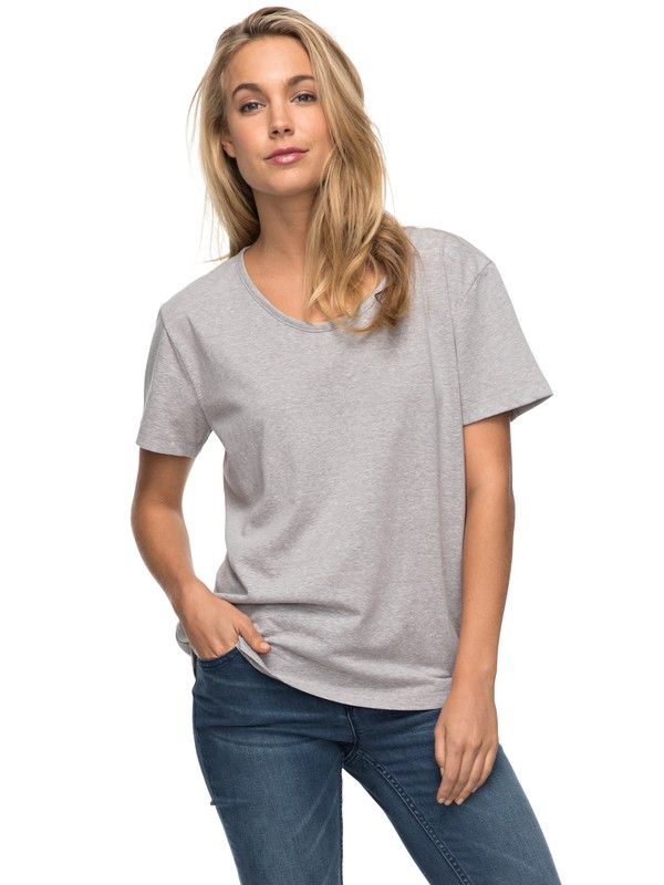 0 Just Simple Tee  ERJZT04055 Roxy