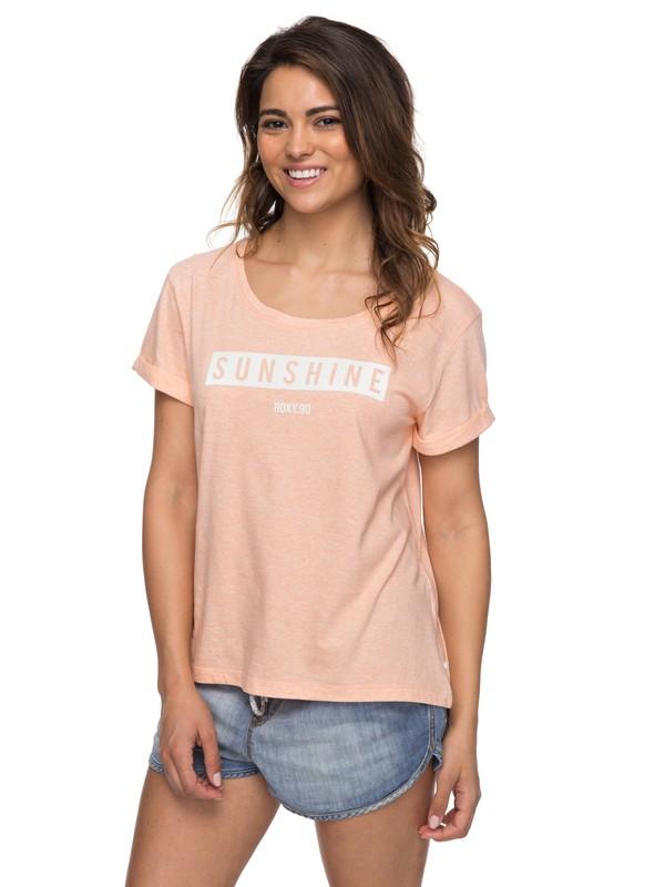 0 Wild Alcyons D - T-Shirt  ERJZT04155 Roxy