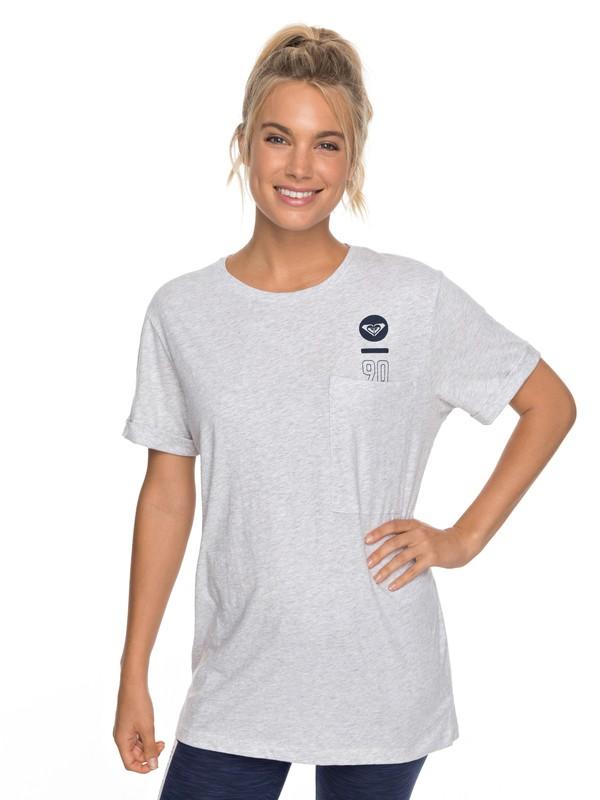 0 Challenge You A - T-Shirt für Frauen Grau ERJZT04209 Roxy