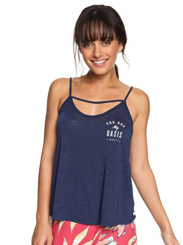 0 Camiseta con Tirantes Once Again C Azul ERJZT04277 Roxy