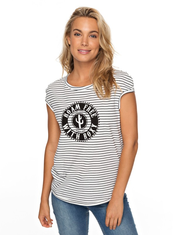 0 Shades Of Cool Cap Sleeve Tee Black ERJZT04296 Roxy