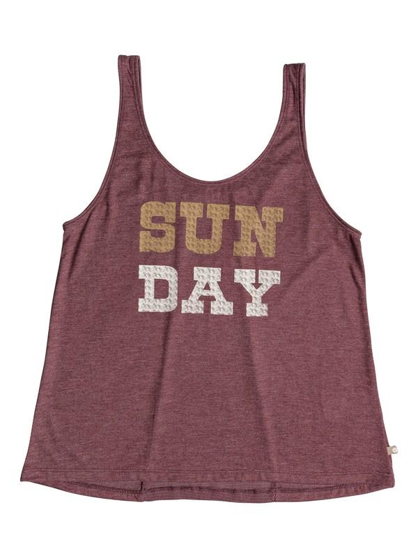0 Sweet Sun Sun Day Strappy Top Red ERJZT04304 Roxy