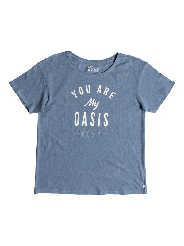 0 Camiseta Oasis High By The Beach Azul ERJZT04305 Roxy