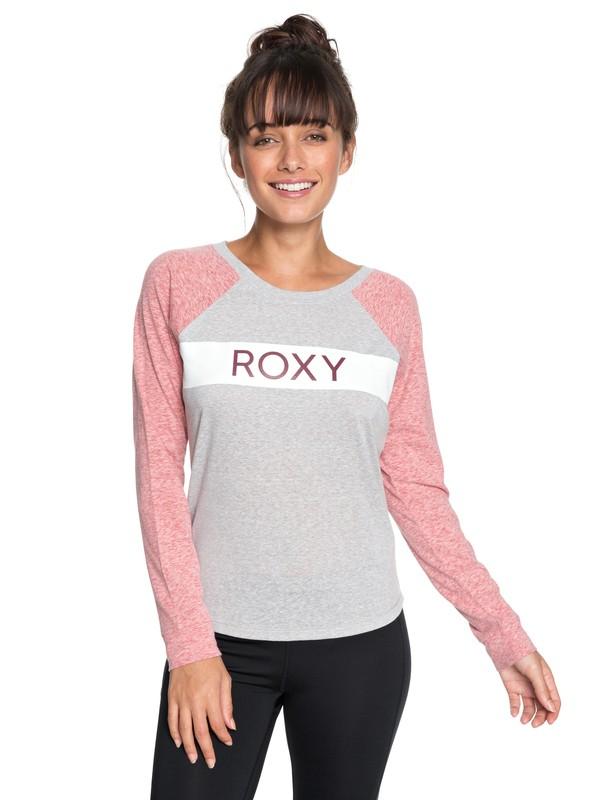 0 Trip Party B - Maglietta a maniche lunghe da Donna Pink ERJZT04328 Roxy