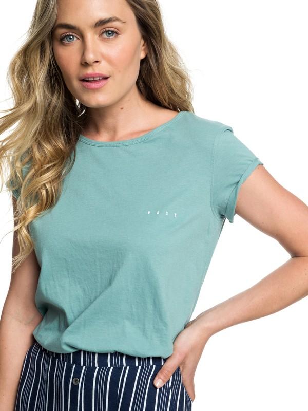 0 Boho Land - Camiseta para Mujer Azul ERJZT04367 Roxy