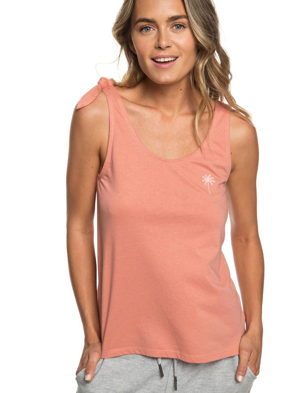 0 Dreaming About A Cruise B Tank Top Pink ERJZT04421 Roxy
