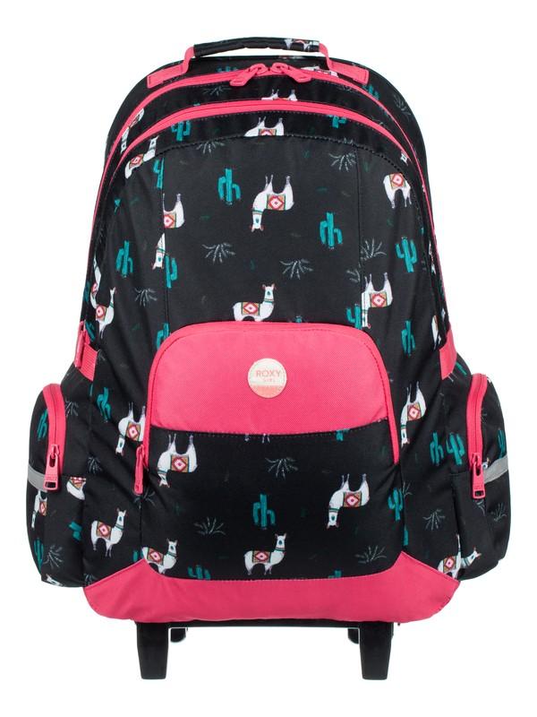 0 Free Spirit - Wheelie Backpack Black ERLBP03024 Roxy