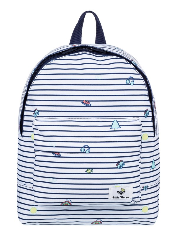 0 Girl's 7-14 Little Miss Daydream 9.5L Small Backpack  ERLBP03027 Roxy
