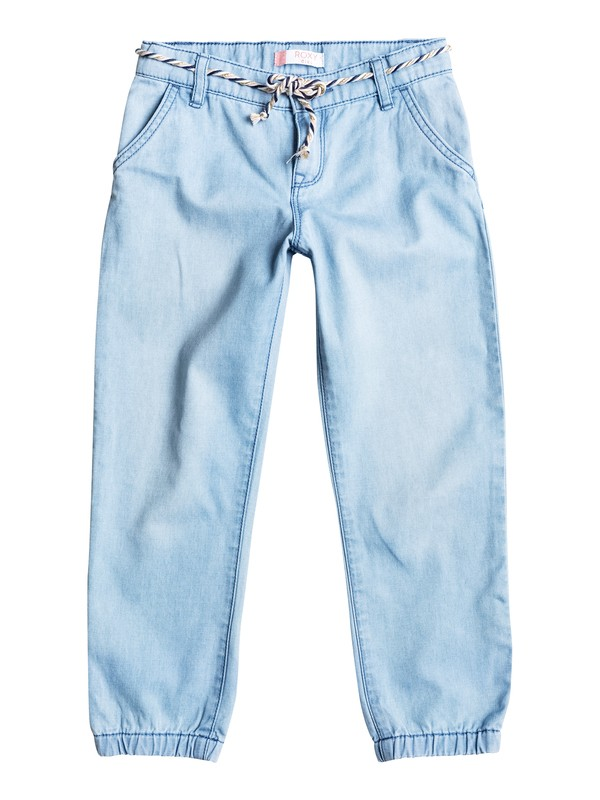 0 Girls 2-6 Folk Field Denim Joggers  ERLDP03017 Roxy