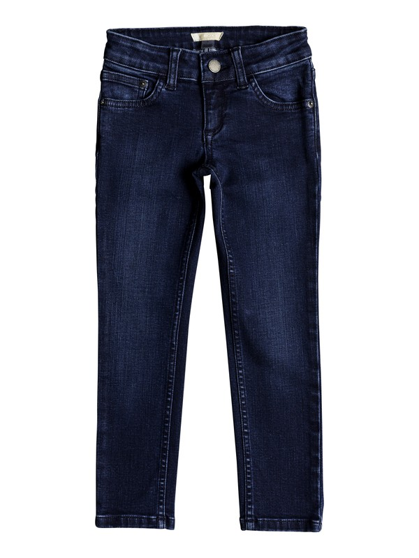 0 Girls 2-6 Adventure Begin Slim Fit Jeans Blue ERLDP03022 Roxy
