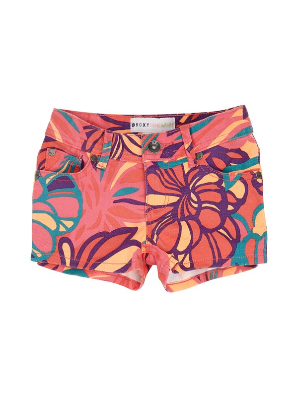 0 Girls 2-6 Teenie Wahine Lisy Print Shorts  ERLDS00009 Roxy