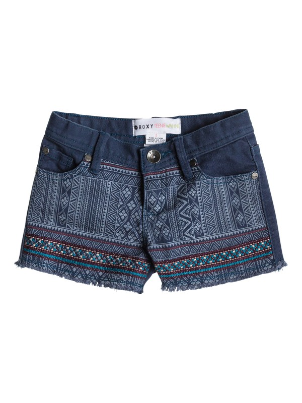 0 Girls 2-6 Lisy Patch Shorts  ERLDS03003 Roxy