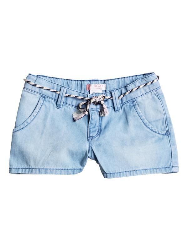 0 Girls 2-6 Breathlessness Denim Shorts  ERLDS03019 Roxy