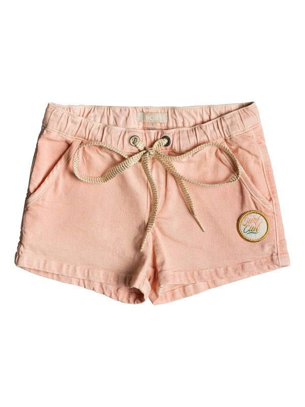 0 Girl's 2-6 Donuts Time Denim Shorts Pink ERLDS03035 Roxy