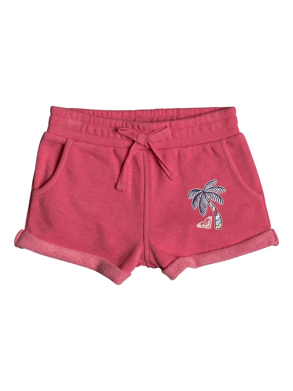 0 Girls 2-6 Laugh And Love Fleece Shorts  ERLFB03043 Roxy