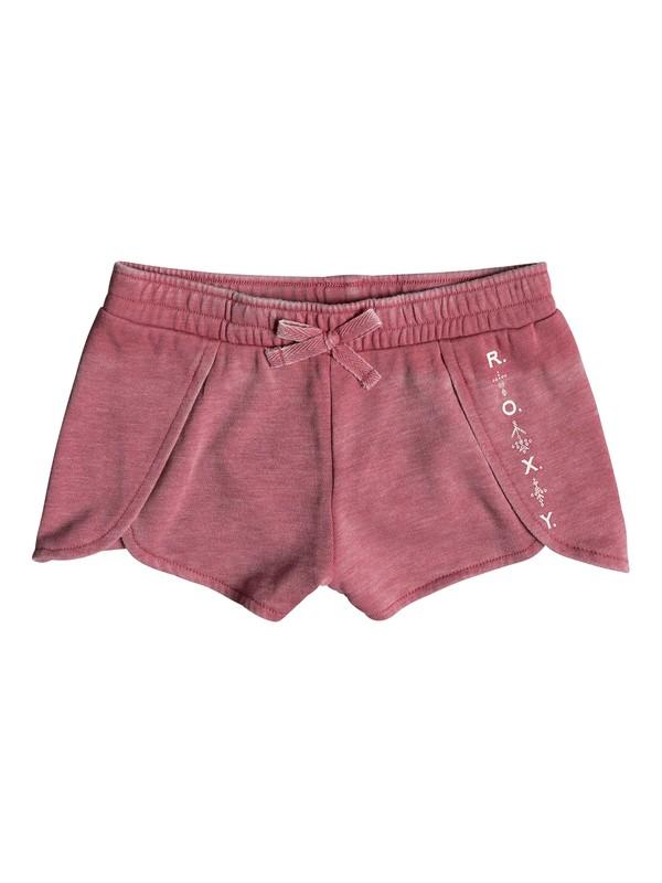0 Girl's 2-6 All My Heart Sweat Shorts Pink ERLFB03046 Roxy