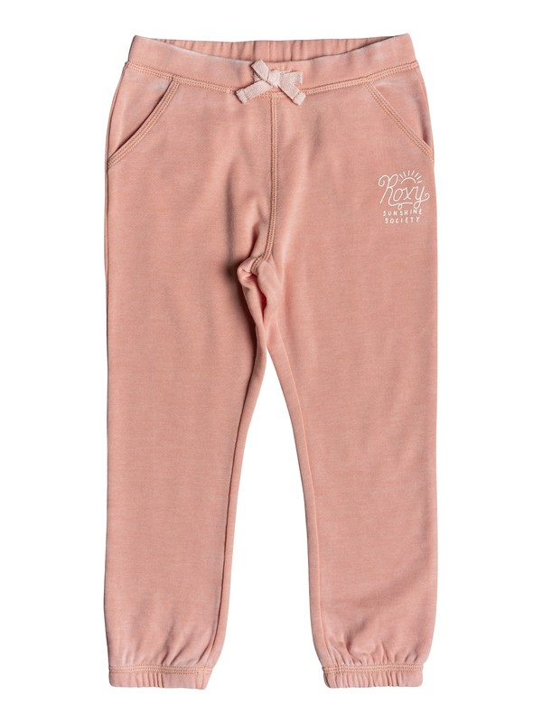 0 Pantalones Joggers Ajuste Slim Wonderful Days Sunshine Rosa ERLFB03055 Roxy