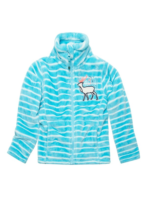 0 Girls 2-6 Igloo Zip Up  ERLFT00011 Roxy