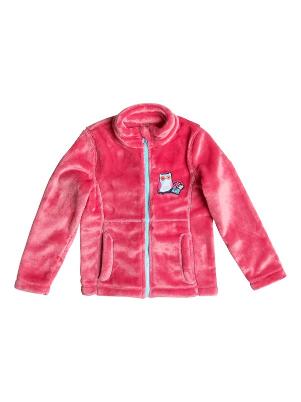 0 Girls 2-6 Igloo Zip Fleece  ERLFT03081 Roxy