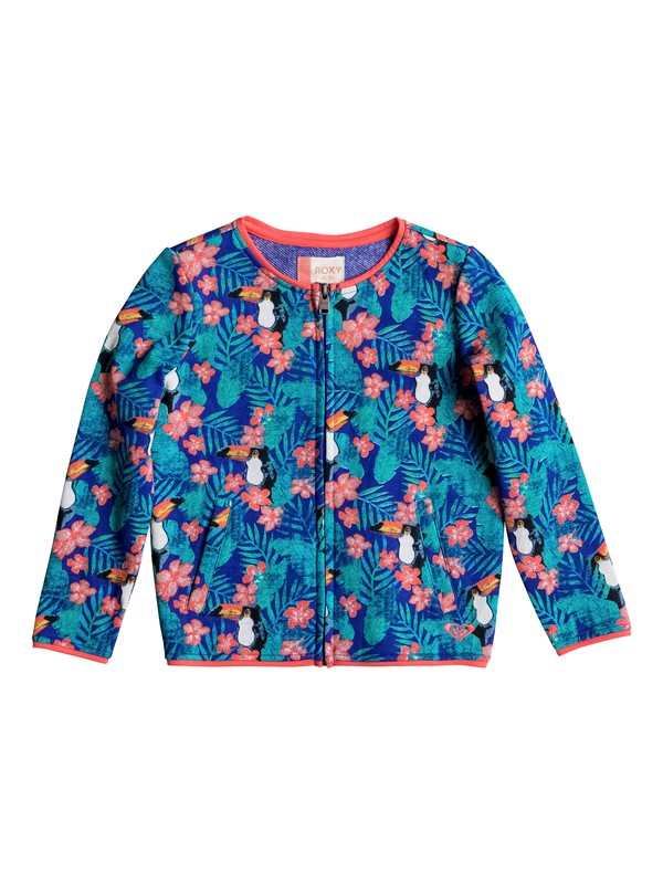 0 Girls 2-6 Give And Take Zip Sweatshirt  ERLFT03098 Roxy