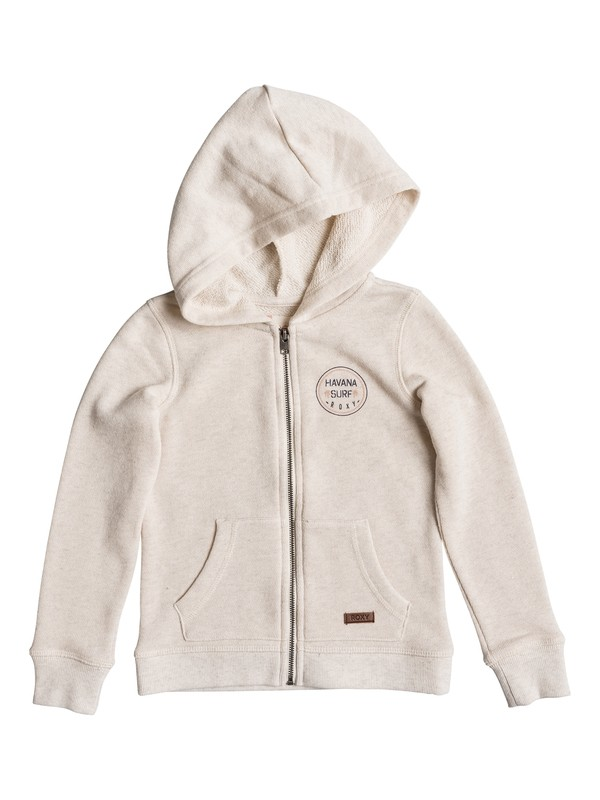 0 Girls 2-6 Close To See U Zip Up Hoodie  ERLFT03106 Roxy