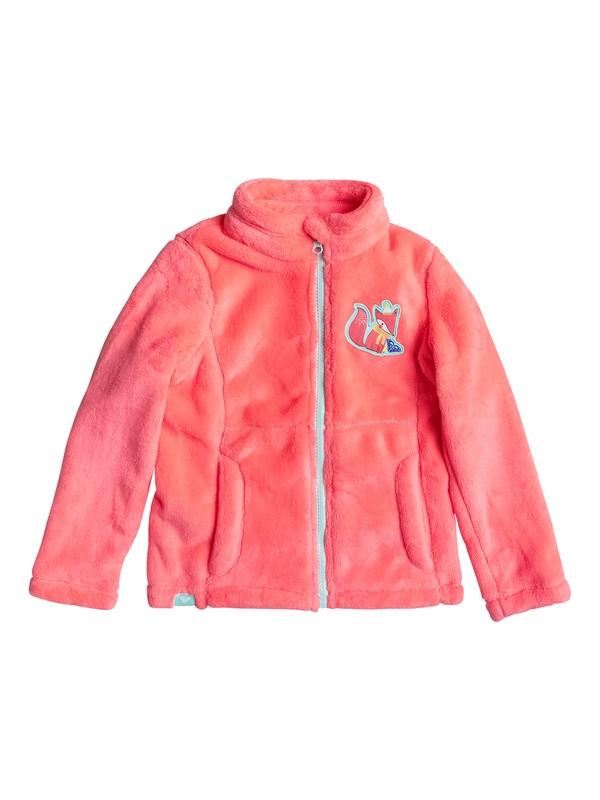 0 Girl's 7-14 Igloo Zip-Up Faux Fur Fleece  ERLFT03109 Roxy