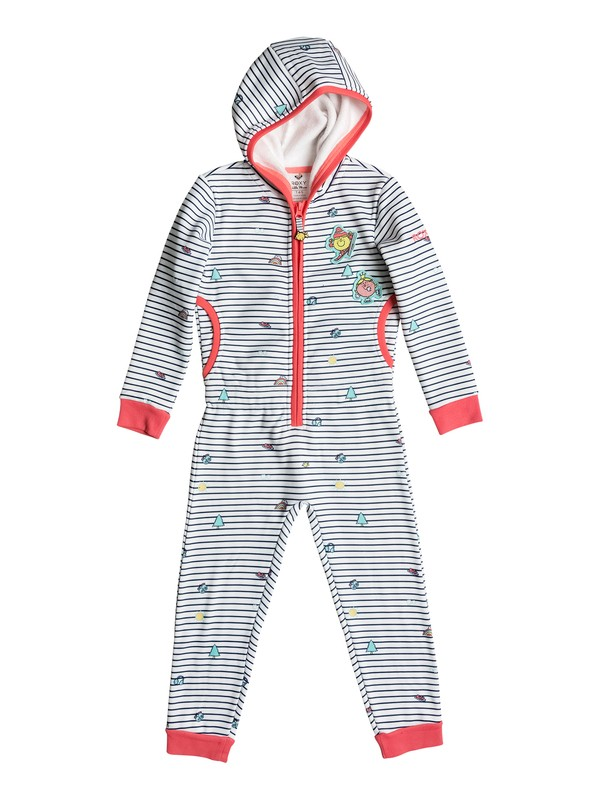 0 Girls 2-6  Cozy Up Little Miss Hooded One Piece  ERLFT03110 Roxy