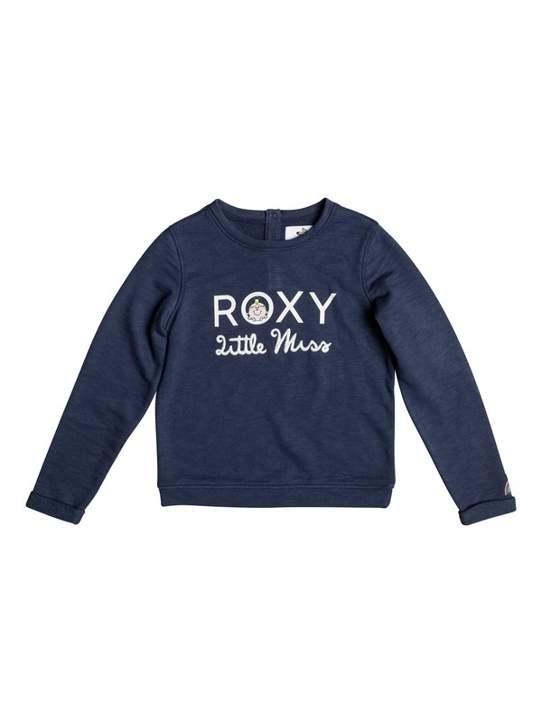 0 Girls 2-6 It Feels Good Little Miss Sweatshirt  ERLFT03113 Roxy
