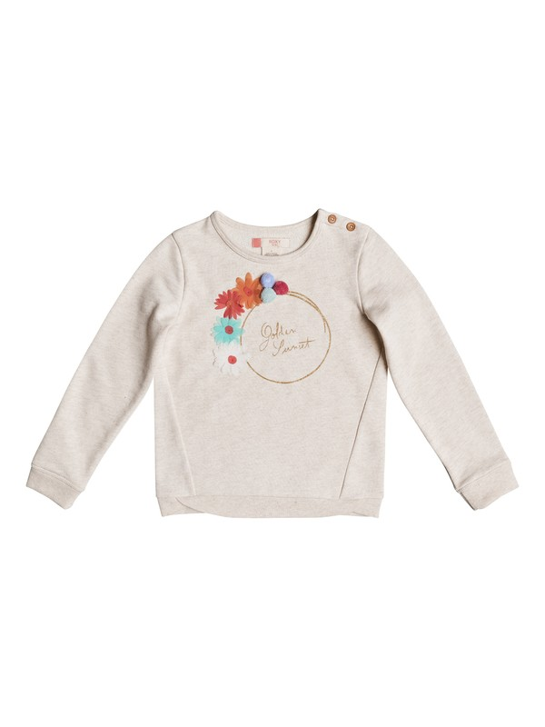 0 Girl's 2-6 Palms Valley Golden Sunset Sweatshirt  ERLFT03119 Roxy