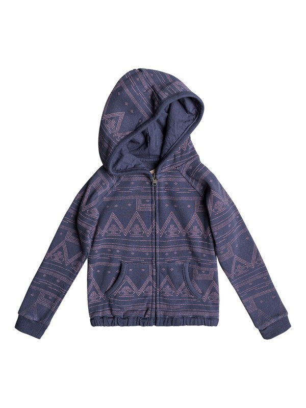 0 Girls 2-6 Make Me Swim Zip-Up Hoodie  ERLFT03122 Roxy