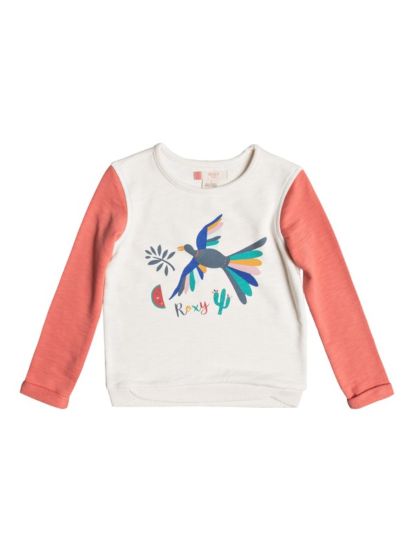 0 Girls 2-6 Gonna Win Birdy Bird Pullover Sweatshirt  ERLFT03125 Roxy