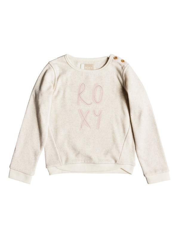 0 Girls 2-6 My Days Poetic Corpo Sweatshirt  ERLFT03152 Roxy