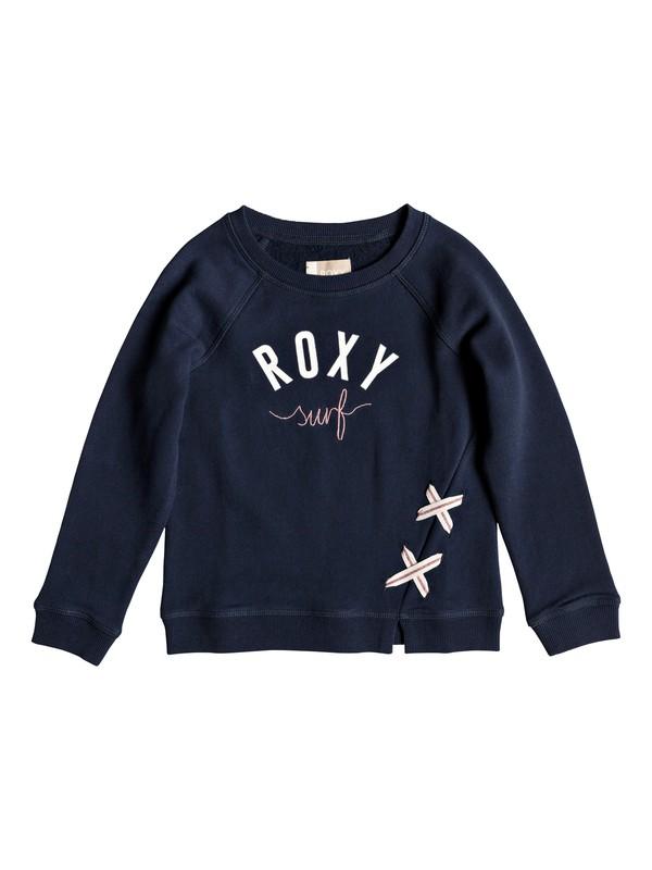 0 Girl's 2-6 Ordinary Sweatshirt Blue ERLFT03159 Roxy