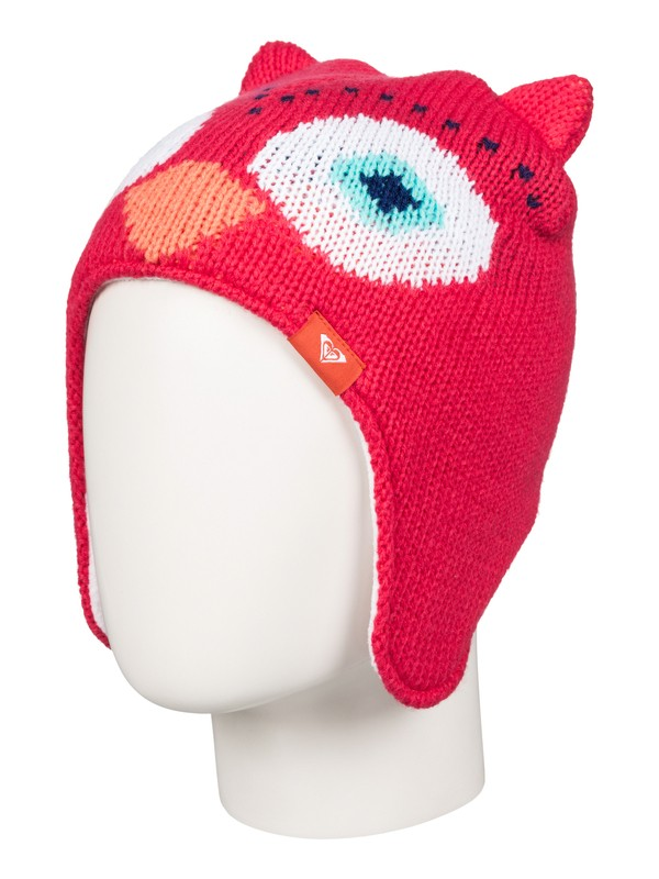 0 Girls 2-6 ROXY Owl Ear Beanie  ERLHA03015 Roxy