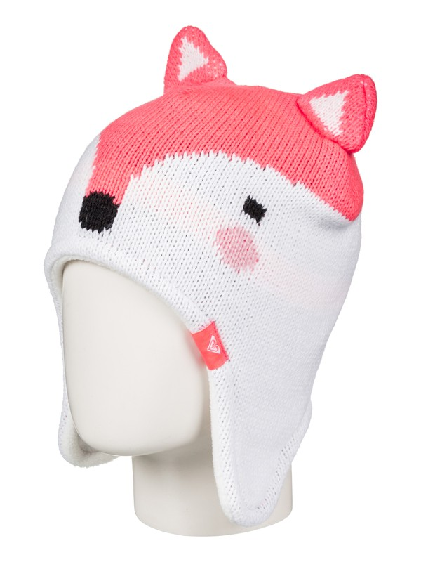 0 Girl's 7-14 Girls 2-6 Fox Beanie  ERLHA03028 Roxy