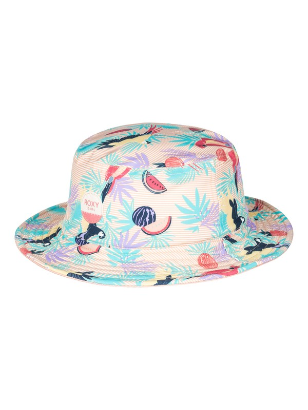 0 Hey Cuties  Bucket Hat Pink ERLHA03038 Roxy