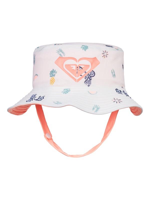 0 Girls 2-6 Bobby Bucket Hat White ERLHA03046 Roxy