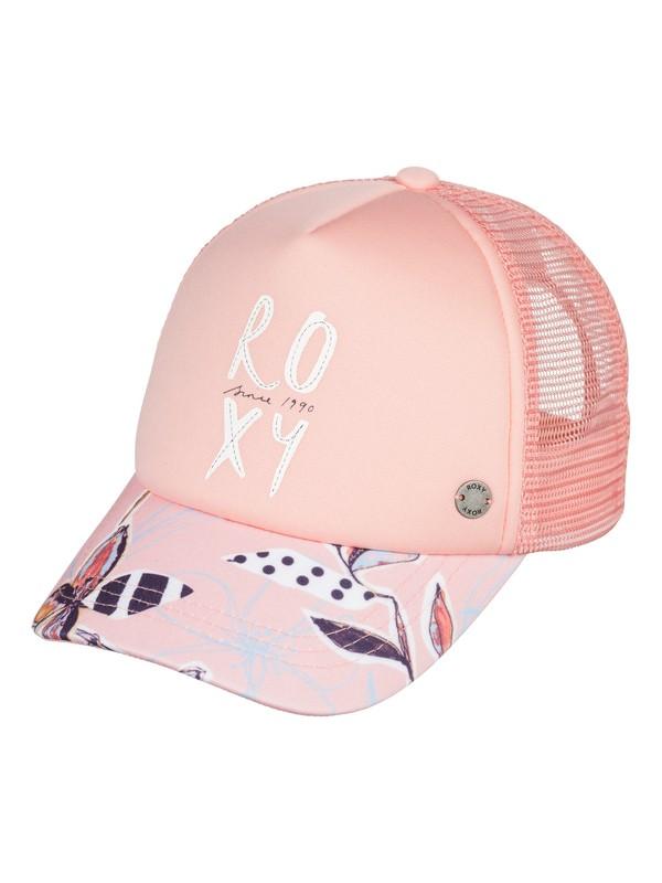 0 Girl's 2-6 Girls 2-6 Sweet Emotion Trucker Hat Pink ERLHA03047 Roxy