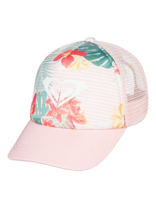 0 Girl's 2-6 Sweet Emotion Trucker Hat Pink ERLHA03048 Roxy